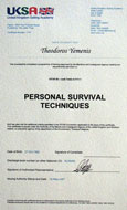 Dr. Theodor Yemenis - STCW95 Personal Survival Techniques