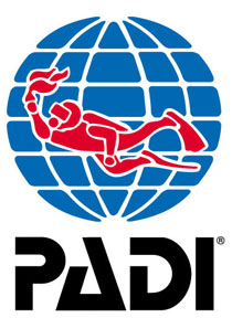 PADI dive association logo